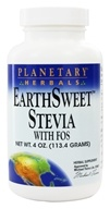 Image of Planetary Herbals - EarthSweet Stevia with FOS Powder - 4 oz. Formerly Planetary Formulas