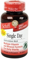 Schiff - Single Day Multi Vitamin and Mineral Formula - 60 Tablets