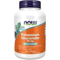 Image of NOW Foods - Potassium Gluconate 99 mg. - 250 Tablets