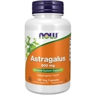 Image of NOW Foods - Astralagus 500 mg. - 100 Capsules