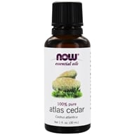 NOW Foods - Atlas Cedar Oil Pure - 1 oz.