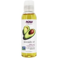NOW Foods - Avocado Oil 100% Pure Moisturizing Oil - 4 oz.