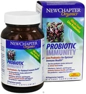 New Chapter - Probiotic Elderberry - 90 Vegetarian Capsules Organics Probiotic Immunity