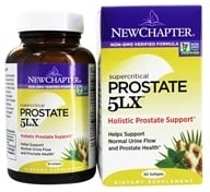 New Chapter - Prostate 5LX - 60 Softgels, from category: Nutritional Supplements