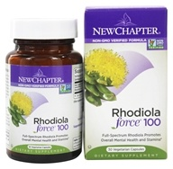 New Chapter - Rhodiolaforce 100 - 30 Capsules (727783045034)