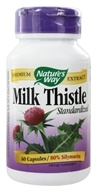 Image of Nature's Way - Milk Thistle Standardized Extract - 60 Capsules