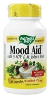 Nature's Way - Mood Aid 471 mg. - 60 Capsules, from category: Herbs