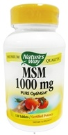 Image of Nature's Way - MSM 1000 mg. - 120 Tablet(s)