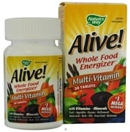 Nature's Way - Alive Multi-Vitamin Whole Food Energizer - 30 Tablets CLEARANCE PRICED, from category: Vitamins & Minerals