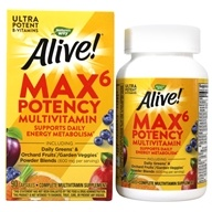Nature's Way - Alive Multi-Vitamin Whole Food Energizer - 90 Vegetarian Capsules, from category: Vitamins & Minerals
