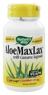 Nature's Way - Aloe MAXLAX 445 mg. - 100 Vegetarian Capsules by Nature's Way