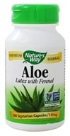 Nature's Way - Aloe Vera - 100 Vegetarian Capsules, from category: Nutritional Supplements