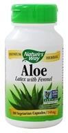 Image of Nature's Way - Aloe Vera - 100 Vegetarian Capsules