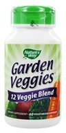 Nature's Way - Garden Veggies - 60 Vegetarian Capsules, from category: Nutritional Supplements