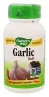 Image of Nature's Way - Garlic Bulb 580 mg. - 100 Capsules Formerly Cloves