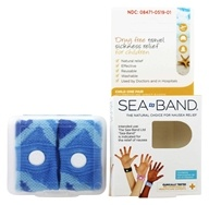 Sea-Band - Acupressure Wrist Bands for Drug Free Travel Sickness Relief for Children - 1 Pair by Sea-Band
