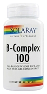 Solaray - B-Complex 100 - 50 Capsules, from category: Vitamins & Minerals