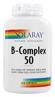 Image of Solaray - B-Complex 50 - 250 Capsules