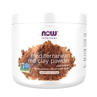 Image of NOW Foods - Moroccan Red Clay - 100% Pure - 6 oz.