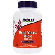 NOW Foods - Red Yeast Rice 1200 mg. - 120 Tablets - $24.99