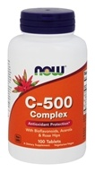 NOW Foods - Vitamin C-500 Complex Vegetarian - 100 Tablets by NOW Foods