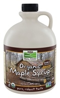 NOW Foods - Maple Syrup - Certified Organic - 100% Pure - Grade B - 64 oz.