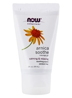 NOW Foods - Arnica Cooling Relief Massage Gel - 2 oz. (733739089991)