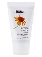 NOW Foods - Arnica Cooling Relief Massage Gel - 2 oz.