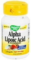 Nature's Way - Alpha Lipoic Acid 50 mg. - 60 Capsules, from category: Nutritional Supplements