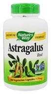 Nature's Way - Astragalus Root 470 mg. - 180 Vegetarian Capsules, from category: Herbs