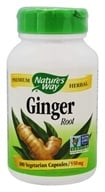 Nature's Way - Ginger Root 550 mg. - 100 Capsules, from category: Herbs