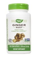 Nature's Way - Ginger Root 550 mg. - 180 Capsules