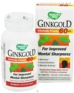 Nature's Way - Ginkgold 60 mg. - 100 Tablets