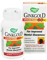 Nature's Way - Ginkgold 60 mg. - 100 Tablets, from category: Herbs