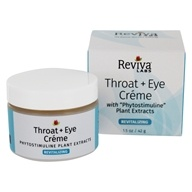 Image of Reviva Labs - Throat & Eye Cream - 1.5 oz.