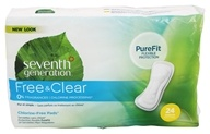Seventh Generation - Chlorine Free Regular 24 Maxi Pads (732913450008)