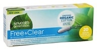 Seventh Generation - Chlorine Free Organic Cotton Regular 20 Tampons (732913451005)