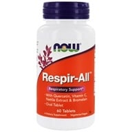 Image of NOW Foods - Respir-All Vegetarian - 60 Tablets (formerly Allergy Support)/
