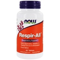 NOW Foods - Respir-All Vegetarian - 60 Tablets (formerly Allergy Support)/, from category: Nutritional Supplements