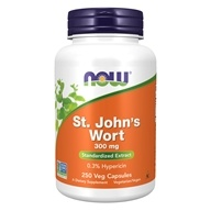 NOW Foods - Saint John's Wort 300 mg. - 250 Capsules (733739047618)