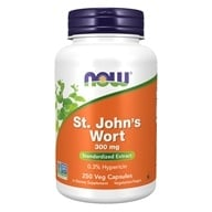 NOW Foods - Saint John's Wort 300 mg. - 250 Capsules by NOW Foods