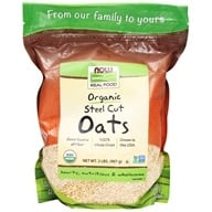 Image of NOW Foods - Steel Cut Oats - 2 lbs.