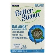 NOW Foods - Stevia Balance with Inulin and Chromium - 100 Packet(s) - $6.19