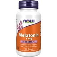 Image of NOW Foods - Melatonin 1 mg. - 100 Tablets
