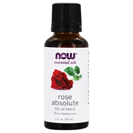 Image of NOW Foods - Rose Absolute 5 Blend Oil - 1 oz.
