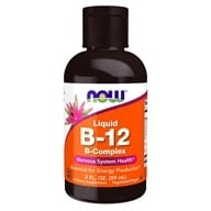 NOW Foods - B-12 Liquid B-Complex - 2 oz. (733739004642)