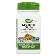 Nature's Way - Myrrh Gum 550 mg. - 100 Capsules (033674151006)
