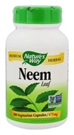 Nature's Way - Neem Leaf 475 mg. - 100 Vegetarian Capsules