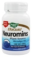 Nature's Way - Neuromins DHA 100 mg. - 60 Vegetarian Softgels, from category: Nutritional Supplements