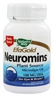 Nature's Way - Neuromins DHA 100 mg. - 60 Vegetarian Softgels (033674452301)